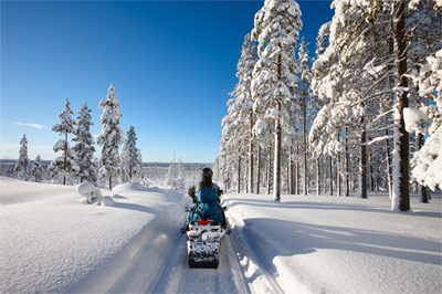 snowmobiling, Adirondack Snowmobile Packages